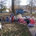 Экскурсия в осенний парк (старшая группа)