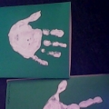 Детские ручки-Новогодние открытки