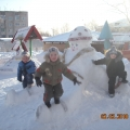 Детско-родителский проект— снежный городок— детям. «В гостях у Емели»