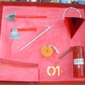 «Макет пожарного щита»