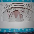 Новогодняя поделка «Зимняя сказка»