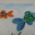 Конспект занятия по лепке «Аквариум с рыбками»