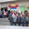 Военно-патриотическое воспитание детей в детском саду «Зарничка— 2013».