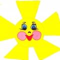 Дидактическая игра «Лучики солнца»