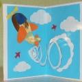 МК Объёмная открытка для папы к 23 Февраля.