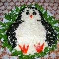 Салат «Пингвинёнок»