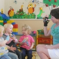 Занятия с использованием тренажер-игрушки «Забавные перчатки»