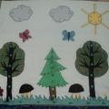 Игра «Пуговичная мозаика и развивающий коврик».