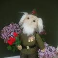 Куклы из капрона, композиция «Спасибо дедушке за Победу!»