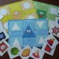 Дидактическая игра «Веселые фигуры»