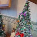 Новогодняя ёлочка из кедровых шишек