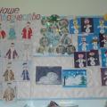 Творческие работы детей к Новому году и Рождеству Христову