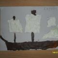 Пластилиновые картины на тему «Транспорт».