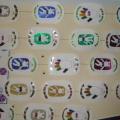 Символы Олимпиады (нетрадиционная техника выполнения)