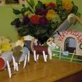 Поделки из природных и бросовых материалов. «Деревня». Совместное творчество детей и родителей.