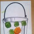 Развитие художественных умений «Украсим ведра для няни»