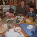 Занятие кружка «Мукосолька» в средней группе детского сада «Сказка»
