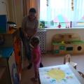 Конспект образовательной деятельности по нетрадиционному рисованию (ладошкой) для детей 3–4 лет «Озорные лучики»