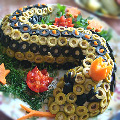 Салат «Змея»