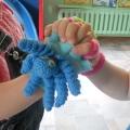Занятия с использованием тренажер-игрушки «Осьминожка»