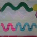 Тренажёр для подготовки руки к письму из картона и бросового материала (для детей от 2 лет)
