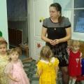 Открытое интегрированное занятие для первой младшей группы «Ягодки для птичек»