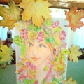 Коллаж «Портрет красавицы Осени»