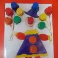 Дидактическая игра «Весёлый клоун»