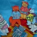 Пальчиковая игра «Потеряли котятки перчатки»