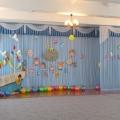 Оформление зала к выпускному в форме путешествия