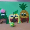 «Ненасытные фрукты». Пособие для формирования у детей речевого дыхания
