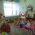 Конспект НОД в первой младшей группе. Тема: «Бабушка Арина в гости к нам пришла»