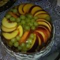 Торт фруктово-желейный