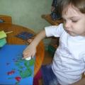 Разноцветный мир малыша-художника. Рисование при помощи печаток
