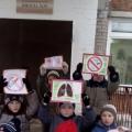 «Папа, мама, не кури!» Акция в рамках Всероссийского проекта «Бросок из Зазеркалья»