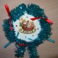 Мастер-класс. «Рождественский венок»