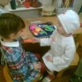 Сюжетно-ролевая игра «Больница» детей 2 младшей группы