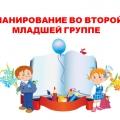 Модель образовательного процесса в младшей группе. КТП по программе дошкольного образования «От рождения до школы»