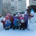 «Снежная королева». Зимнее оформление участка детского сада