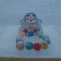 Зимние постройки нашего детского сада!