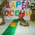 Выставка поделок из овощей и осенних букетов «Дары осени»