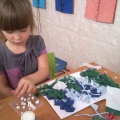 Работы детей к новогоднему празднику