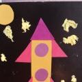 День Космонавтики. Аппликация «Ракета» в младшей группе