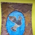 «Птица счастья» из природного материала