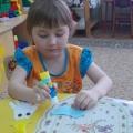 Детское творчество «Осьминожки из ладошки»