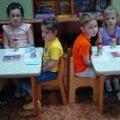 Художественное творчество с детьми средней группы «Веселые матрешки».
