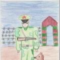 И снова Победы во Всероссийском конкурсе рисунков «Герой нашего времени», посвящённом Дню защитника Отечества