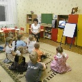 Развивающая игра «Поможем Незнайке» в ОО «Познание»