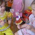 Театрализованная деятельность с младшими дошкольниками (виды театра)
