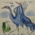 Учим детей рисовать птиц